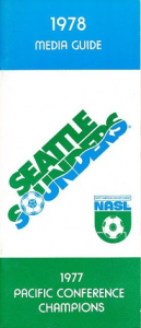 1978 Seattle Sounders Media Guide