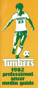 1982 Portland Timbers Media Guide