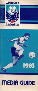 1983 Vancouver Whitecaps Media Guide