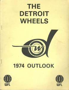 1974 Detroit Wheels