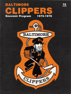 1976 Baltimore Clippers Program