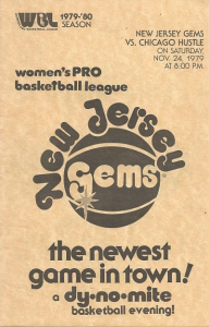 1979 New Jersey Gems Program