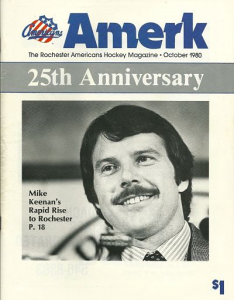 Mike Keenan Rochester Americans