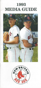 New Britain Red Sox Media Guide