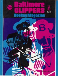1974 Baltimore Clippers Program
