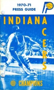 1970-71 Indiana Pacers Media Guide