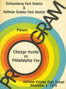 1979 Chicago Hustle Program