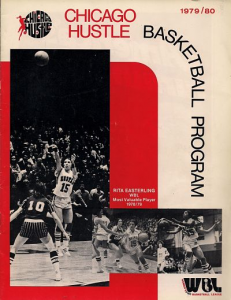 1979-80 Chicago Hustle Program