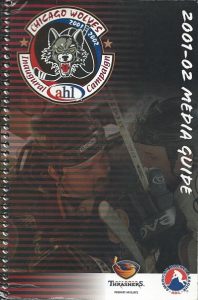 2001-02 Chicago Wolves