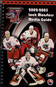 Lowell Lock Monsters Media Guide