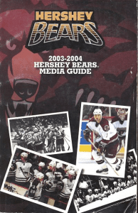 Hershey Bears Media Guide