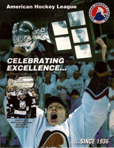 American Hockey League Media Guides