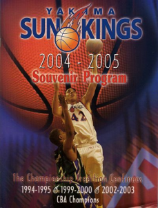 2004-05 Yakima Sun Kings Program