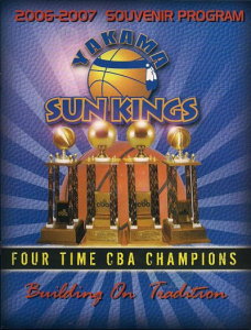 2006-07 Yakama Sun Kings Program