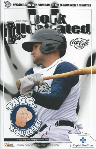 2011 Lehigh Valley Ironpigs Program