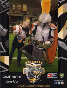 2011-12 Syracuse Silver Knights Program