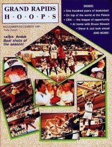 1991-92 Grand Rapids Hoops Program