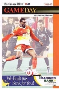 2011-12 Baltimore Blast Program
