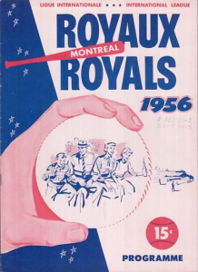 1956 Montreal Royals Program