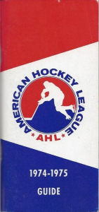 1974-75 American Hockey League Guide