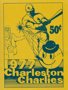1977 Charleston Charlies Program