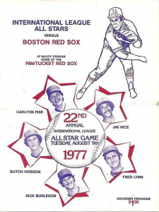 1977 Boston Red Sox vs. International League All-Stars