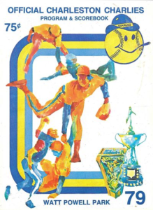 1978 Charleston Charlies Program