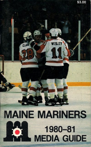 1980-81 Maine Mariners Media Guide