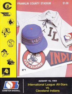 International League All-Stars vs. Cleveland Indians @ Columbus, OH. August 18, 1983