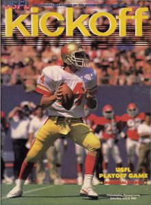 Usfl programs at fun while it lasted chuck fusina philadelphia stars ken lacy michigan panthers 1983 usfl championship game sciox Gallery