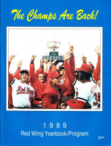 1989 Rochester Red Wings Program