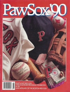 1990 Pawtucket Red Sox Yearbook