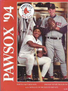 1994 Pawtucket Red Sox Program