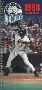 1998 Columbus Clippers Media Guide