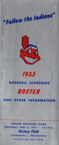 Indianapolis Indians Media Guide