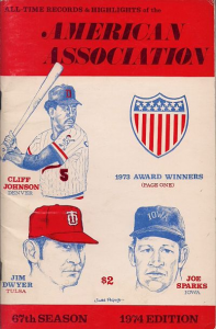American Association Record Book