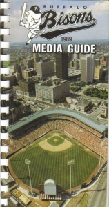 Buffalo Bisons Media Guide