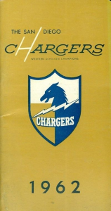 1962 San Diego Chargers Media Guide