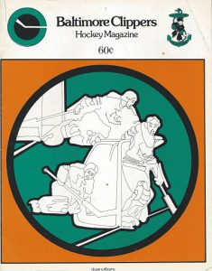 1973 Baltimore Clippers Program