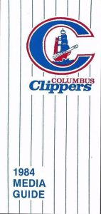 1984 Columbus Clippers Media Guide