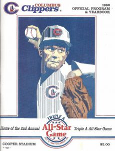 1989 Columbus Clippers Program