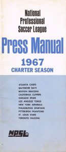 1967 National Professional Soccer League Media Guide