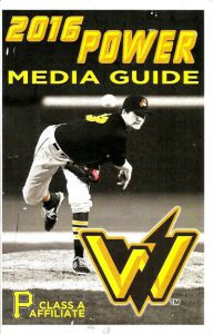 2016 West Virginia Power Media Guide