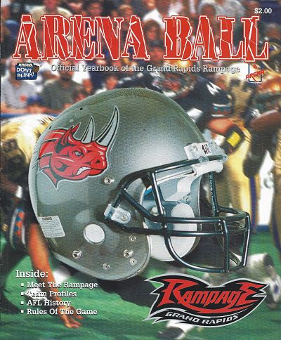 1998 Grand Rapids Rampage Yearbook