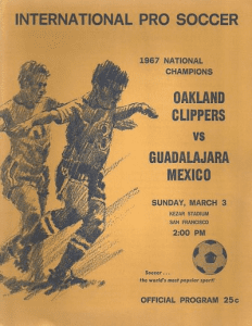 1968 Oakland Clippers Program
