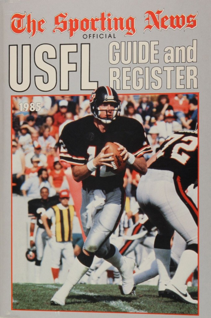 1985 Sporting News USFL Guide and Register