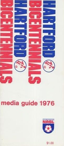 1976 Hartford Bicentennials Media Guide