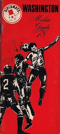 1978 Washington Diplomats Media Guide