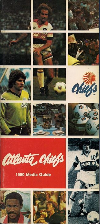 1980 Atlanta Chiefs Media Guide