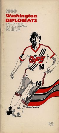 1980 Washington Diplomats Media Guide